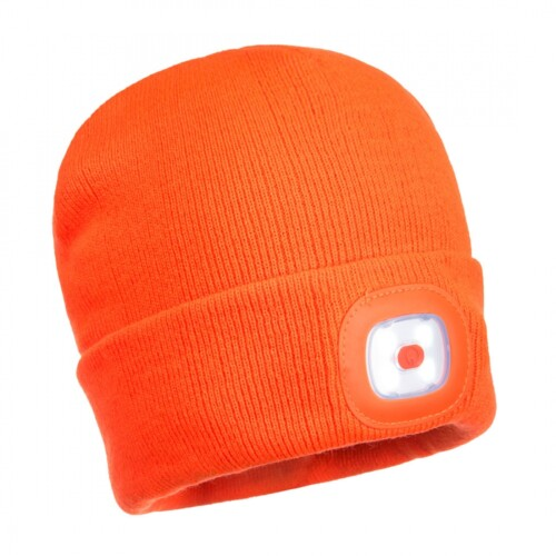 Passion Sport & Aventure Magasin Sport Rennes Bonnet.Light.150.Lumens.Rechge.Orange 50