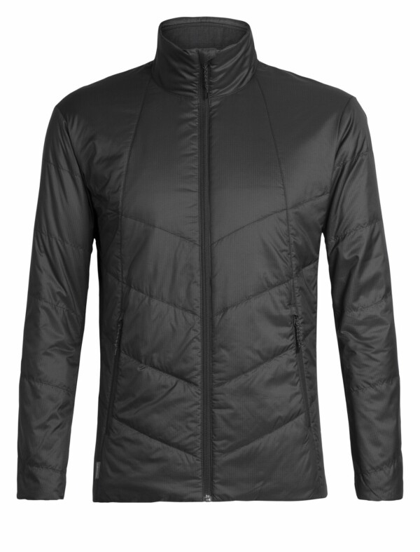 Passion Sport & Aventure Magasin Sport Rennes HELIX LS ZIP MEN Black 137
