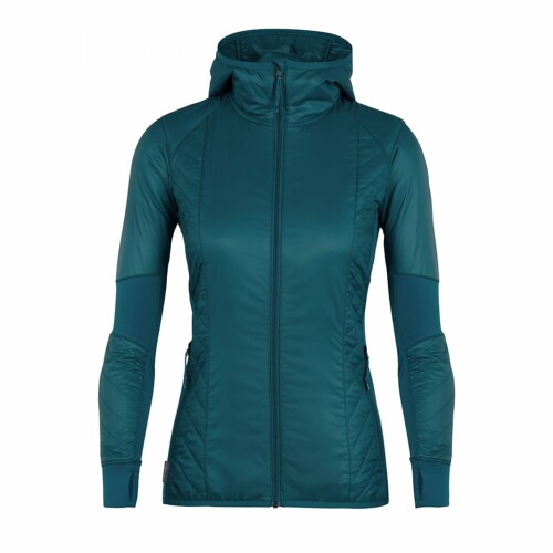 Passion Sport & Aventure Magasin Sport Rennes HELIX.W. LS ZIP Kingfisher 138