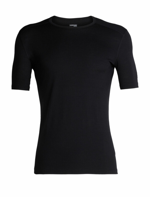 Passion Sport & Aventure Magasin Sport Rennes Mens Oasis SS.Crewe ST.200 Black 202