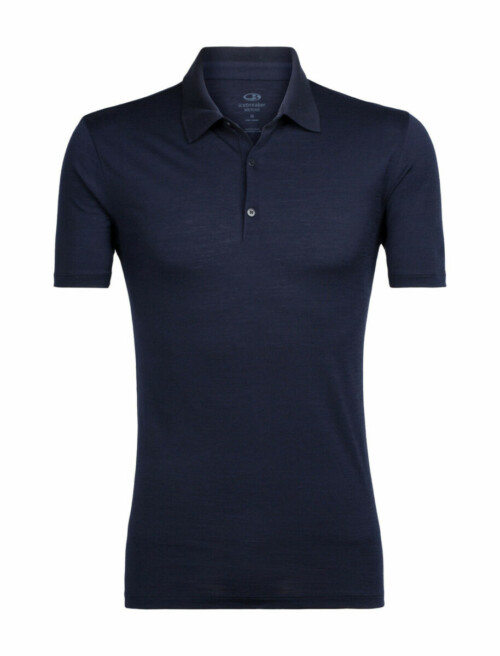 Passion Sport & Aventure Magasin Sport Rennes Mens Tech LIte SS POLO Waterfall 204