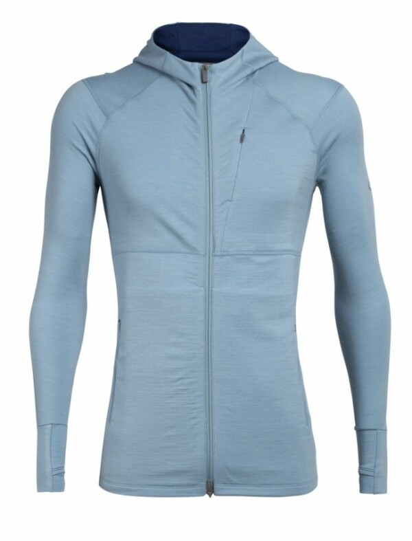 Passion Sport & Aventure Magasin Sport Rennes Quantum Men. LS ZIP Hood Waterfull 273