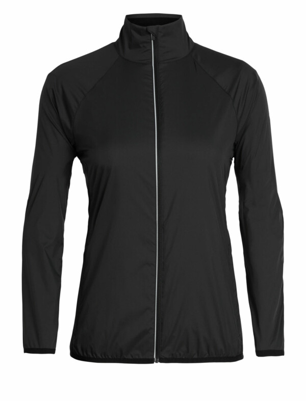 Passion Sport & Aventure Magasin Sport Rennes Rush Windbreaker.Wns. LS ZIP Black 287