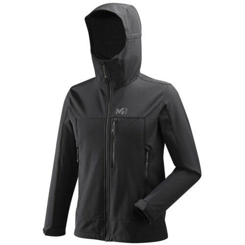 Passion Sport & Aventure Magasin Sport Rennes TRACK HOODIE JKT.W Black 360