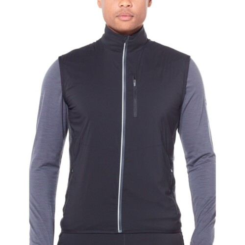 Passion Sport & Aventure Magasin Sport Rennes TRAINER Hybrid Vest.LS.ZIP.JKT.Men Black 361
