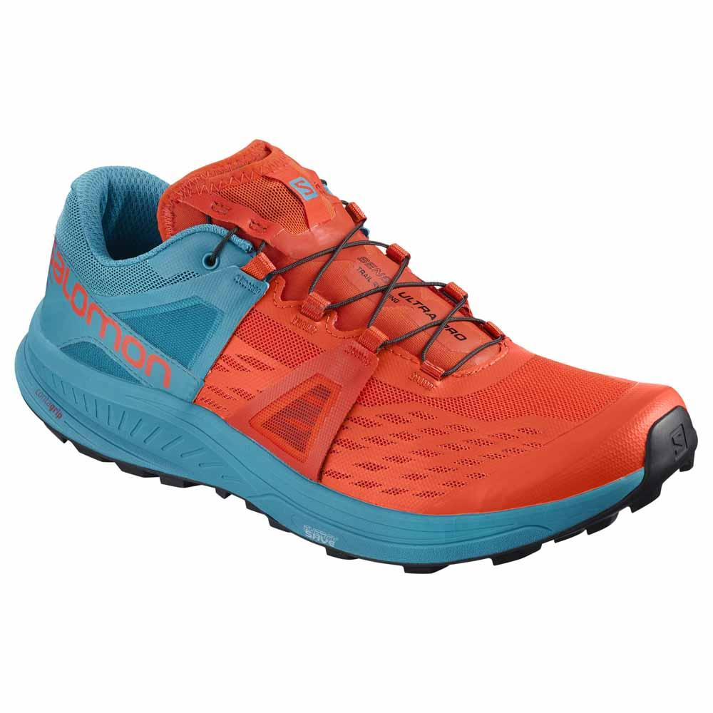 Passion Sport & Aventure Magasin Sport Rennes ULTRA PRO.Trail Men Bleu Orange 363
