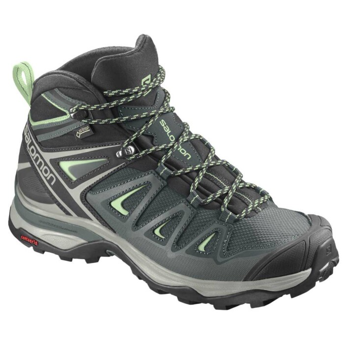 Passion Sport & Aventure Magasin Sport Rennes X ULTRA MID3 GTX W Blue Lime 402